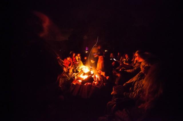 Firelight gathering
